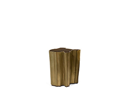SEQUOIA Brass Small Side Table Modern Design by BRABBU is a living room furniture piece ideal for a modern home decor.