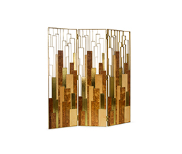 DELPHI Folding Screen Modern Design by BRABBU makes your modern home decor a true desirable environment to disclose.