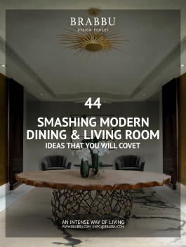 44 Smashing Dining and Living Room Ideas