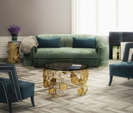 This amazing velvet sofa, with curvy back and arms, base in vintage brass and polished golden nails hat will enhance both modern and classic living room sets. This jewel toned sofa will be the comfort