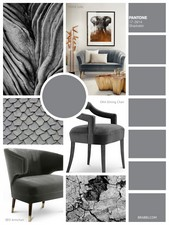 Sharkskin is a confident and contemporary colour, and the one that can be paired with almost any of these Autumn colours.