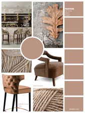 Warm Taupe is a timeless neutral colour, chic and organic that suggests reassurance and stability.