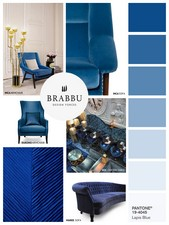 Lapis Blue is the last but not least of these colour trends that you really need for the next spring/summer season.
