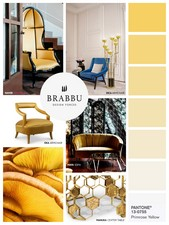 Primrose Yellow. This tone really reminds one of the sunny days and all the joy of warm weather.