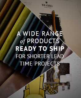 A wide range of products ready to ship for shorter lead time projects