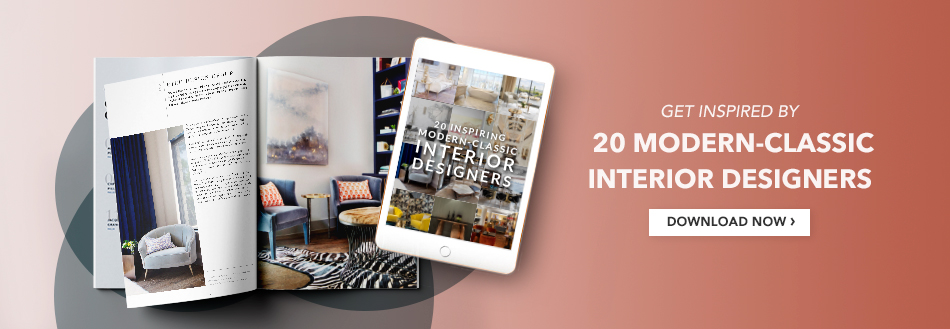 Article Banner - E-book 20 Modern Classic Interior Designers book of the week Book Of The Week: Art Life By Sig Bergamin modern classic banner artigo