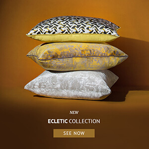eclectic pillow