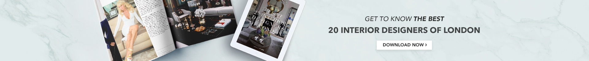 E-book Top 25 Interior Designers London