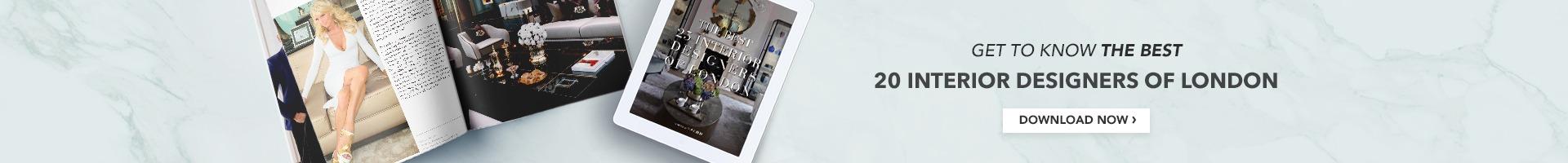 E-book Top 25 Interior Designers London
