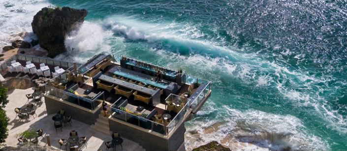 Top five bars through the world Top five bars through the world Top five bars through the world Rock Bar Ayana Resort Spa Bali Indonesia