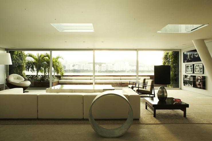 Chic Penthouse by Arthur Casas Studio Chic Penthouse by Arthur Casas Studio Urca4