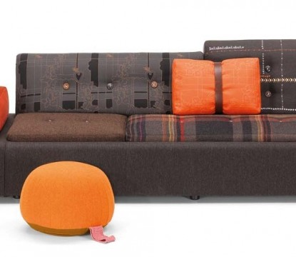 Vitra's Limited Edition Polder Sofas