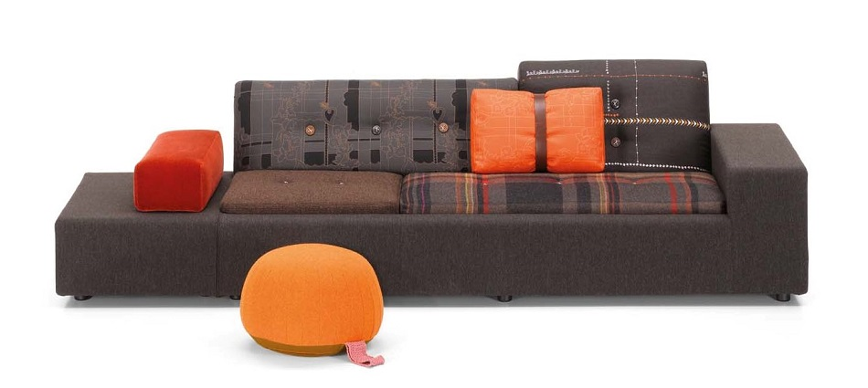Vitra's Limited Edition Polder Sofas Vitra's Limited Edition Polder Sofas Jongerius MaharanPolder  Special Edition front lowres C  pia