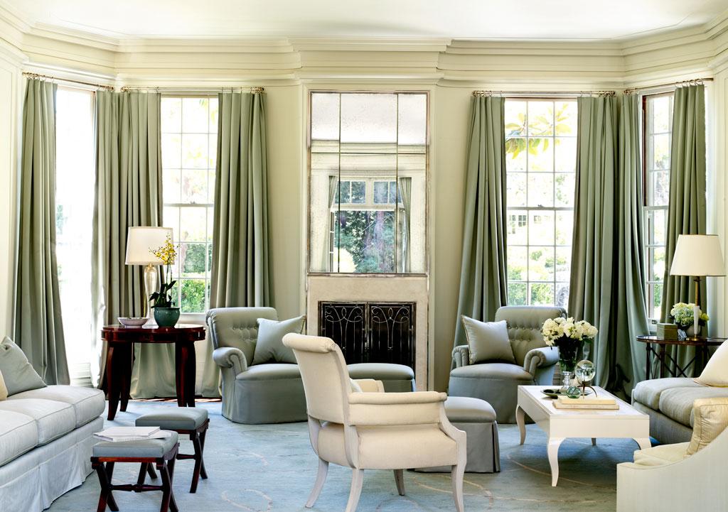 Barbara Barry Fabrics In A Living Room Brabbu Design