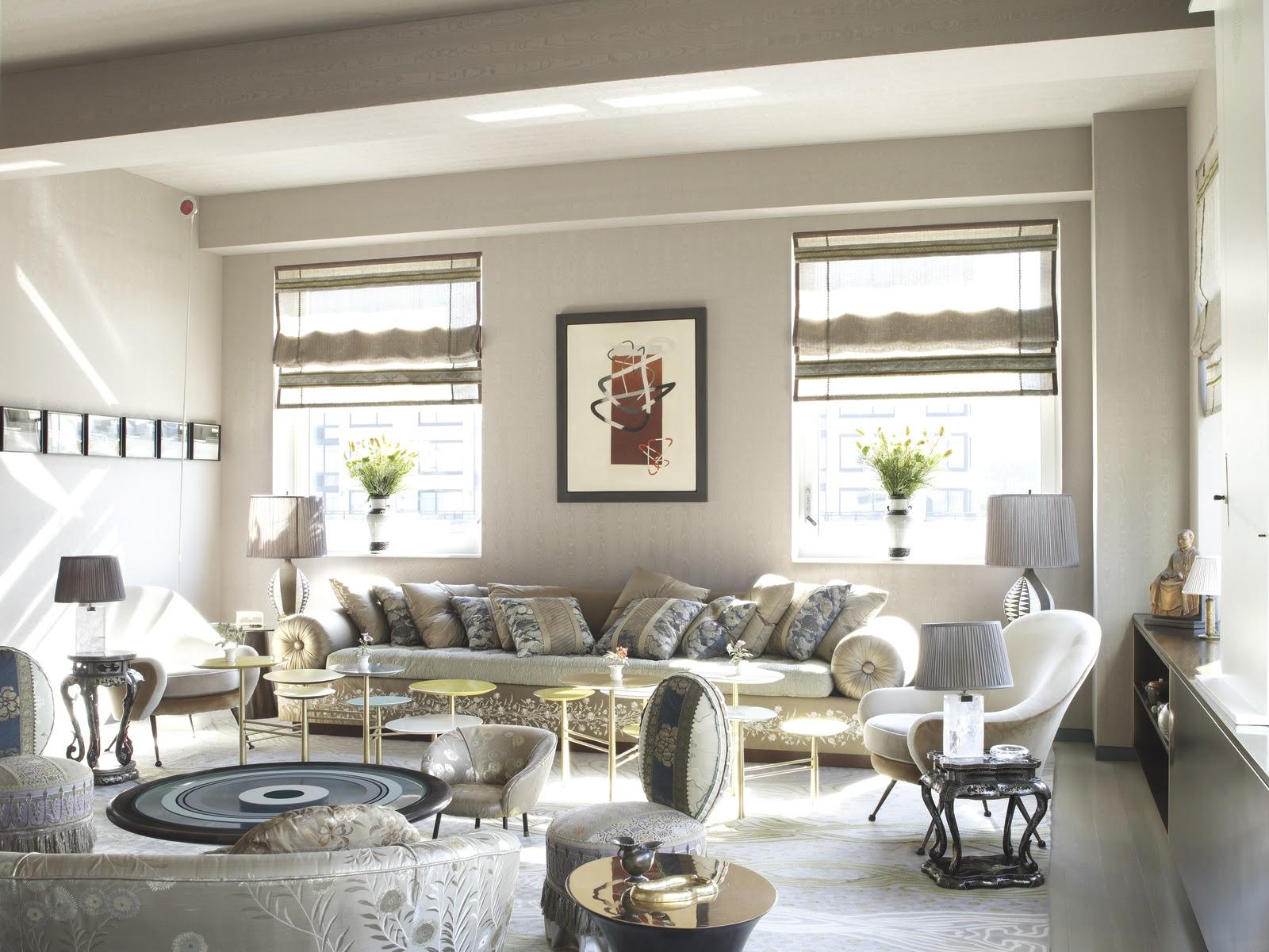 Muriel Brandolini Moment White Living Room Brabbu