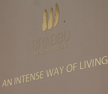 BRABBU's first day at iSaloni 2013