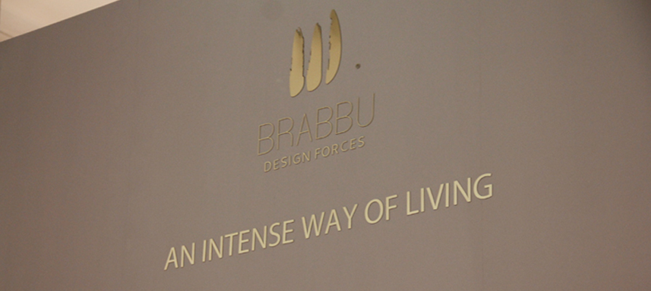 """BRABBU's first day at iSaloni 2013"""