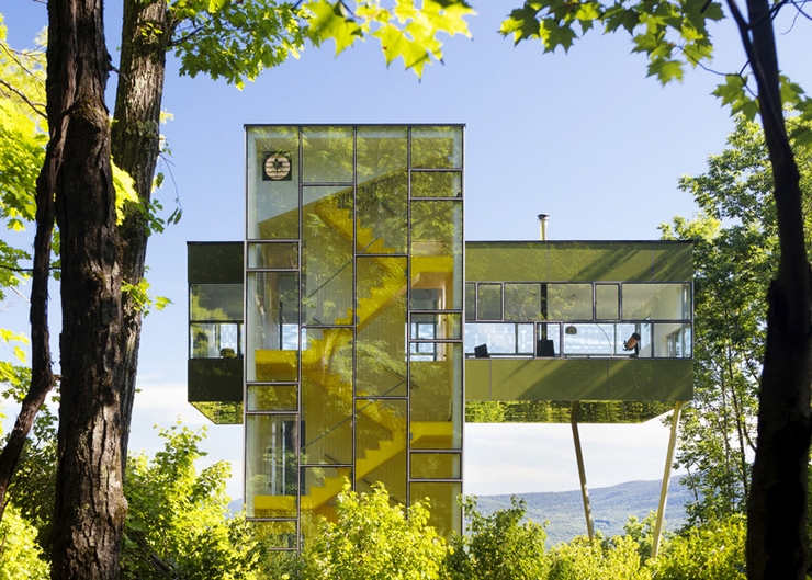 New york s tower house for New york based architecture firms