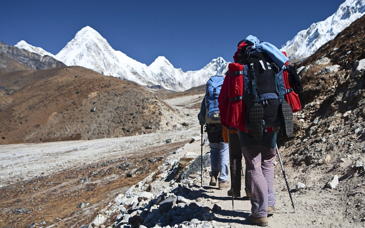 """In Nepal trekking is the best way to explore the mountainous Himalayan region through the many tracks. Nepal is the best destination concerning to trekking because there are about 1500 mountains exceeding 5000 meters that you can explore"""