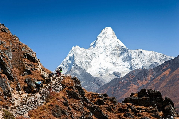 """""""In Nepal trekking is the best way to explore the mountainous Himalayan region through the many tracks. Nepal is the best destination concerning to trekking because there are about 1500 mountains exceeding 5000 meters that you can explore"""""""