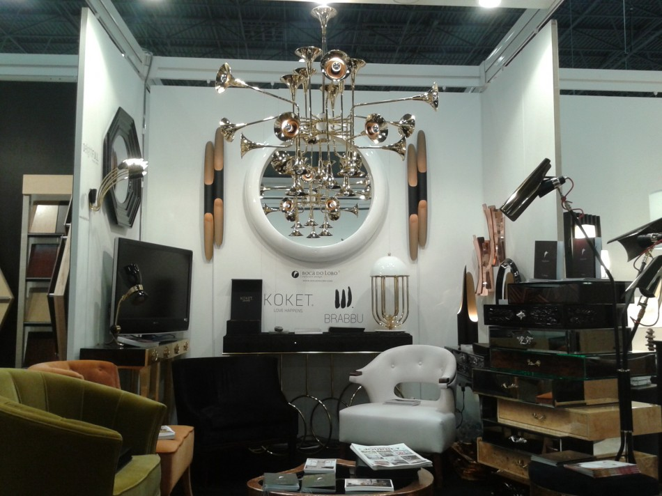 """BRABBU and partner brands Boutique Design New York booth 822"""