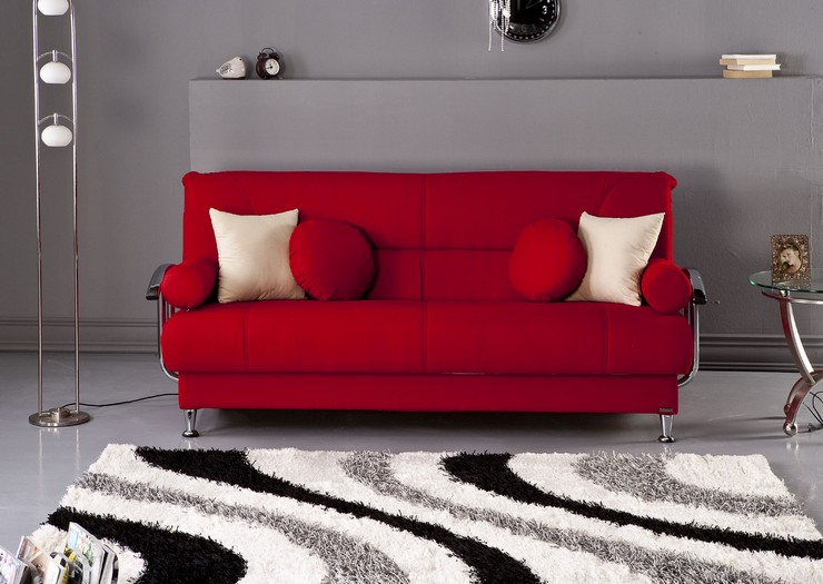 """""""It's also time to review the biggest trends and to highlight the brands from which we will not want to miss a thing throughout 2014. This way we start by selecting the 2013 best design sofas."""" 2013 Best design sofas 2013 Best design sofas red sofa1"""