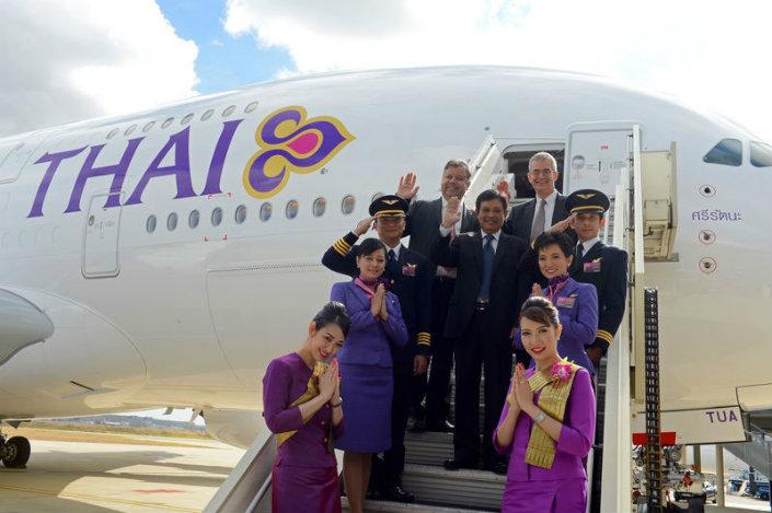 World's Best Luxury Airlines - Thai