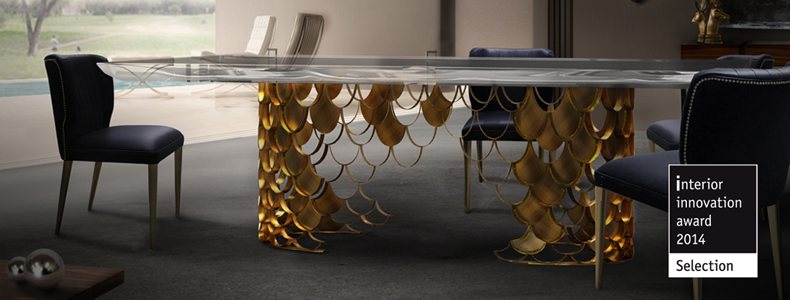 Awarded Design at Maison&Objet Paris 2014-koi dining table 2 Cover