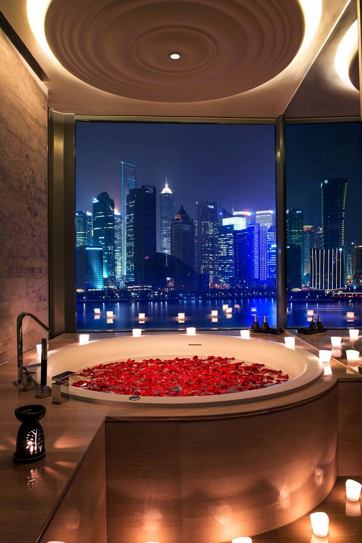 """""""For our inspiration and yours, we had a go at picking out some of the new most unique and luxury places to stay around the world."""" 2014 Luxury Hotels to check in 2014 Luxury Hotels to check in ant1 banyan suite bathroom tub with 4567"""