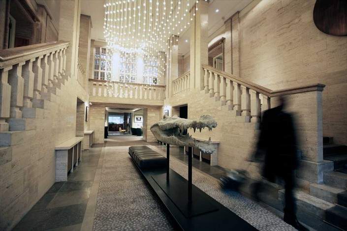 """""""For our inspiration and yours, we had a go at picking out some of the new most unique and luxury places to stay around the world."""" 2014 Luxury Hotels to check in 2014 Luxury Hotels to check in das stue berlin lobby 02"""