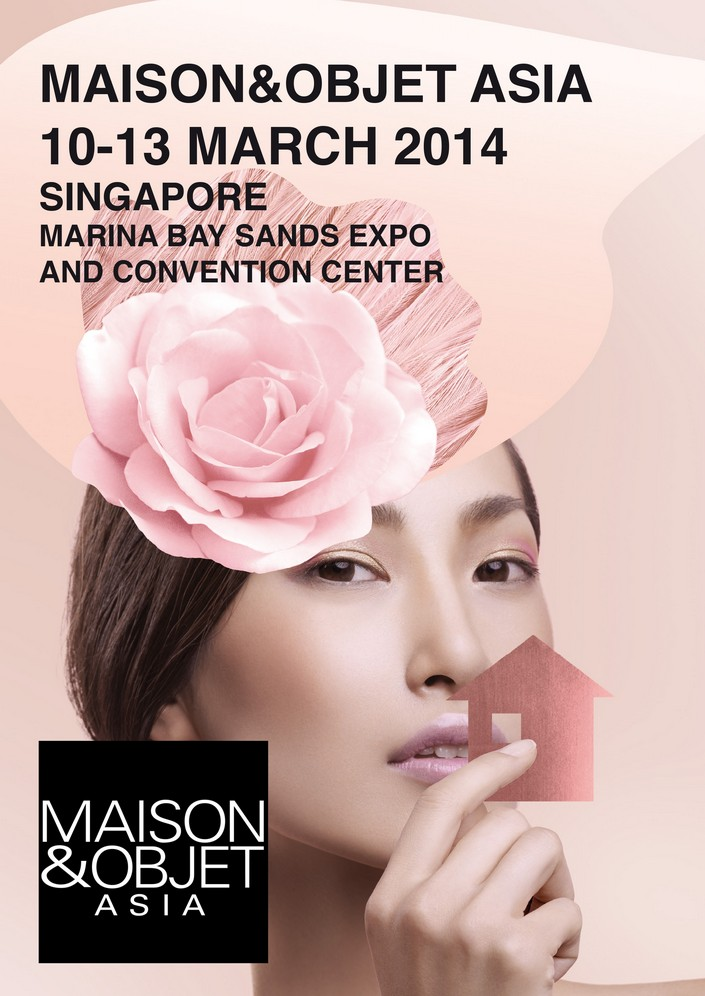 """""""This March Singapore at the Marina Bay Sands Expo and Convention Centre the Maison&Objet Asia will bring with it the very same spirit of creativity and sophistication that characterises its Parisian event and BRABBU will be there!"""" MAISON&OBJET ASIA IN SINGAPORE 2014 MAISON&OBJET ASIA IN SINGAPORE 2014 asiaStickiish small3"""