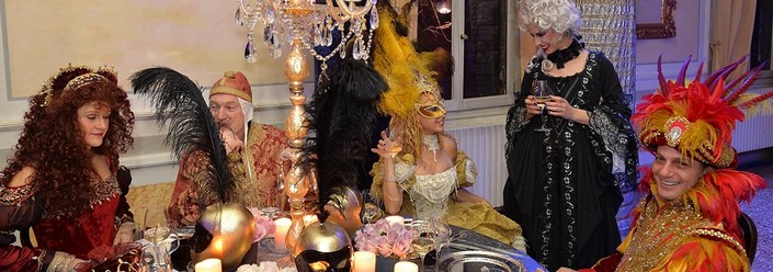 """""""The Enchanted Palace it's one of the most important Venice Grand Balls of the year"""" Venice Carnival 2014 Venice Carnival 2014 enchantedPalace04"""