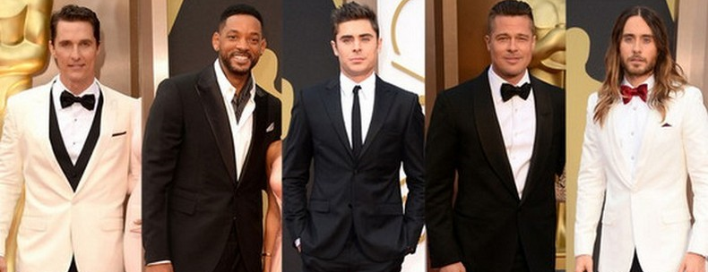 BEST MEN OUTFIT AT THE 2014 OSCAR AWARDS