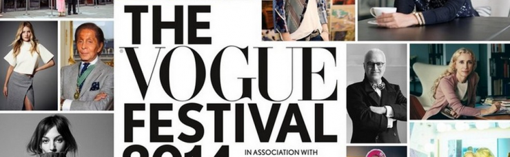 """""""The third Vogue Festival will take place on Saturday 29 and Sunday 30 March 2014, this year in partnership with Harrods."""""""