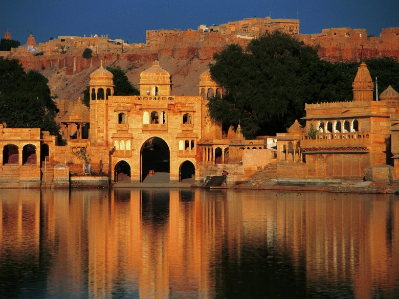 """""""There are a lot of things you really need to do before you die. What about bike tours? But not a normal bike tour a Worldwide bike tour. """" Worldwide bike tours you should do before you die Worldwide bike tours you should do before you die Gadi Sagar Temple Jaisalmer Rajasthan India"""
