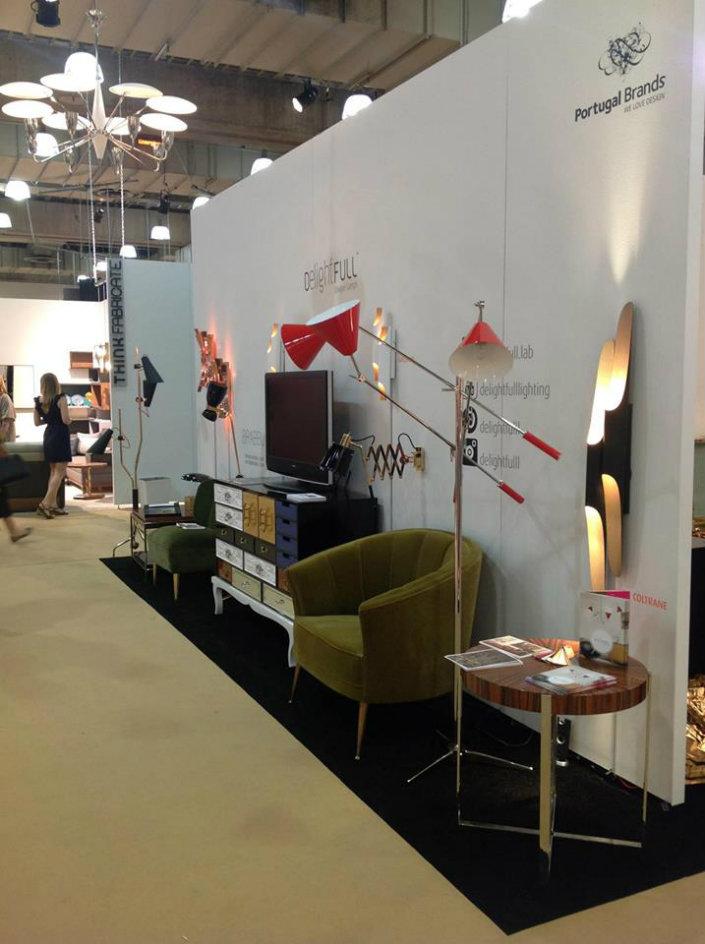 Kvadrat stand at Stockholm Furniture Fair 2014 # interiordesign .