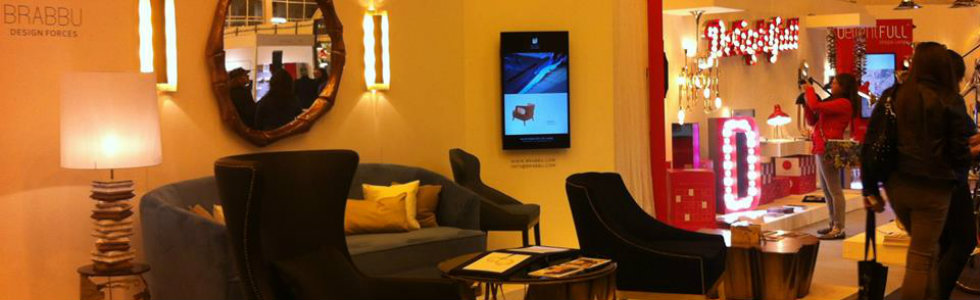 100 design london 2014: BRABBU exhibits top living room ideas