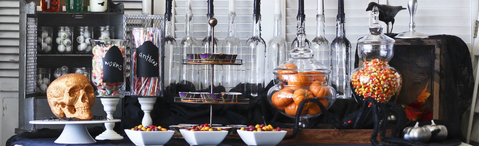 & Easy and Stylish Halloween dining room decorating ideas