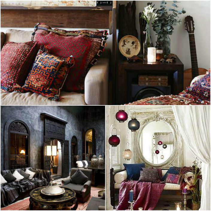 9 Simple Ideas For A Bohemian Style Home Decor