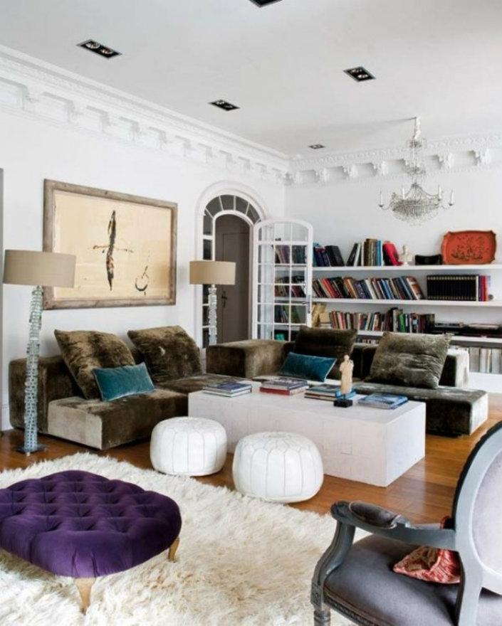 Simple Decor Ideas For A Bohemian Style Home Contemporary Bohemian Living Room Brabbu Design Forces