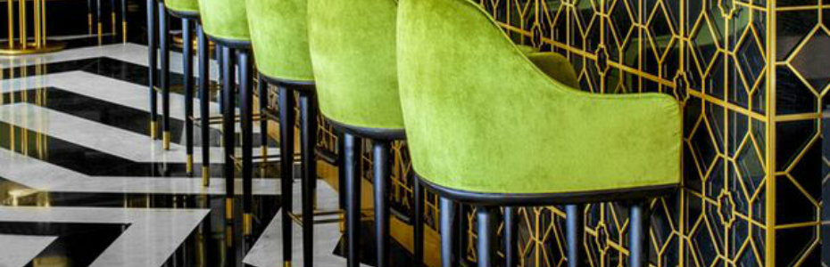Velvet fabric on Back Stool chairs The latest Back bar stools Design ideas for restaurants and hotels The latest Back bar stools Design ideas for restaurants and hotels 2c77ed9d51b5b87158408fd09502101d
