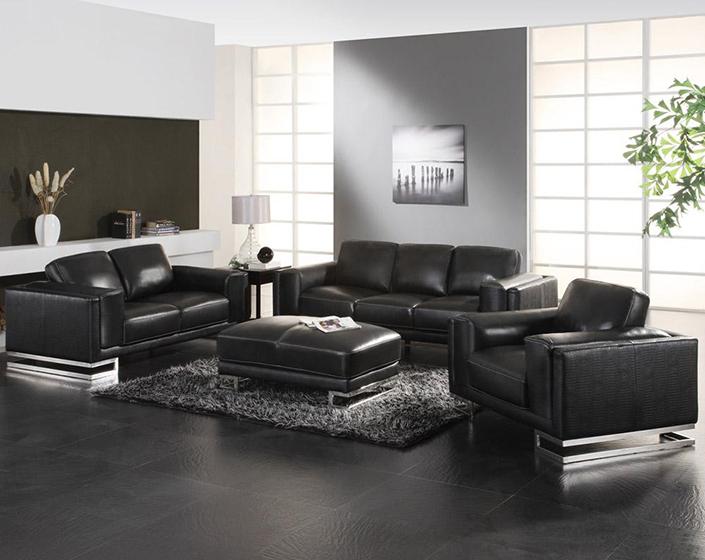 5 Black Living Room Sets 4 Brabbu, Black Living Room Furniture
