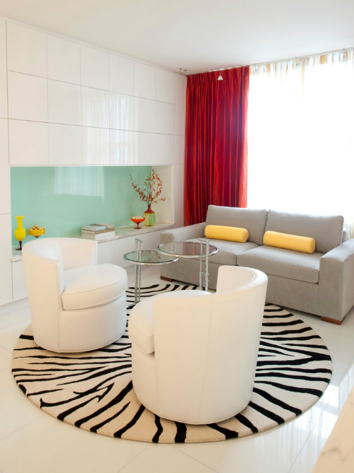 5 Colorful Round Living Room Rugs 4