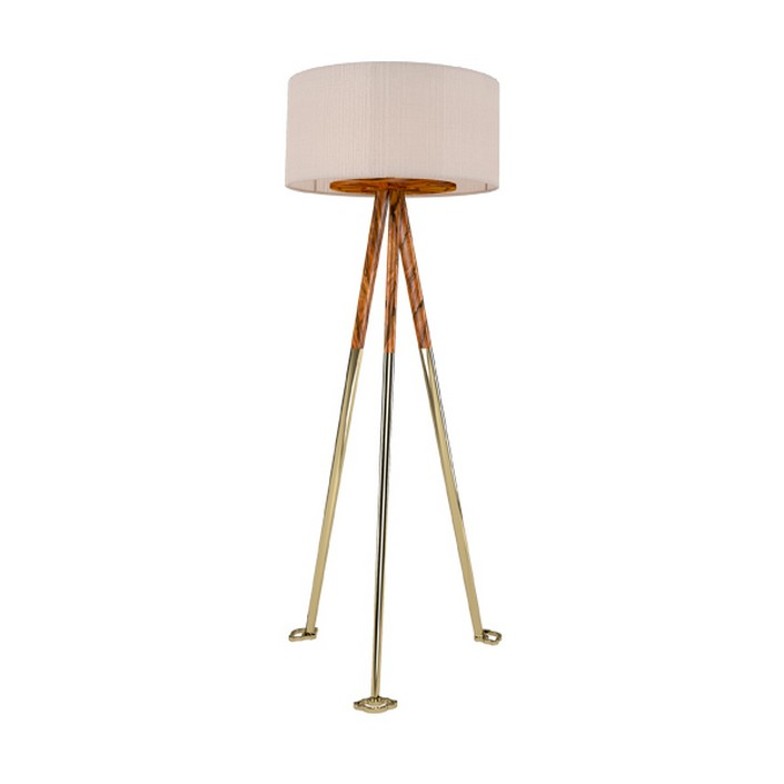6 Elegant Gold Floor Lamps That Fit Every Living Room 3 6 Elegant Gold Floor  Lamps
