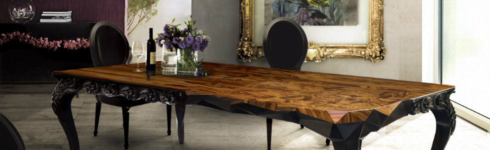 Genial 6 Elegant Wood Dining Room Tables