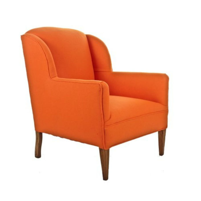 8 modern wingback chair for a sophisticated living room for Fun living room chairs