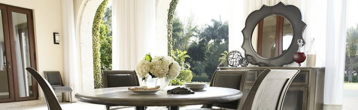 """""""Best 5 suggestions for a wooden round mirror-Dining room set"""""""