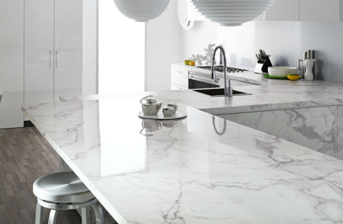 Carrara Marble Dining Table For Clical Rooms