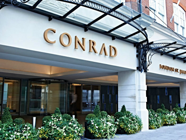 Conrad London St. James Which of London's best Hotels should i book for Christmas Eve? Which of London's best Hotels should i book for Christmas Eve? Conrad London