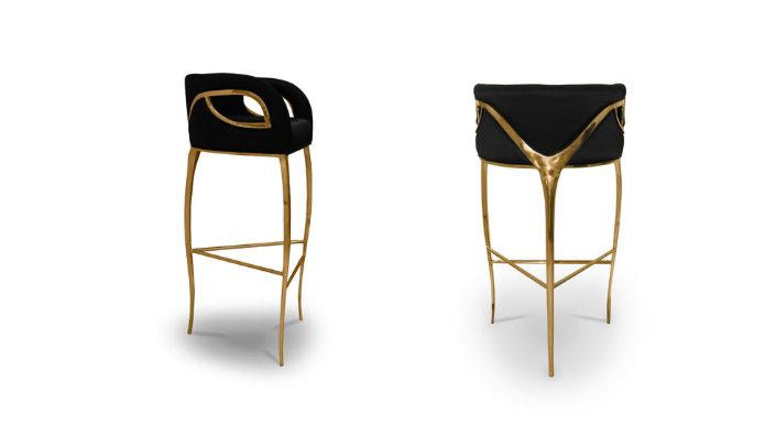 gray swivel oyster counter merrick luxedecor bay stools height lexington stool